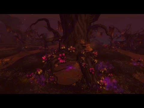 Relaxing World of Warcraft scenery - Tanaan Jungle