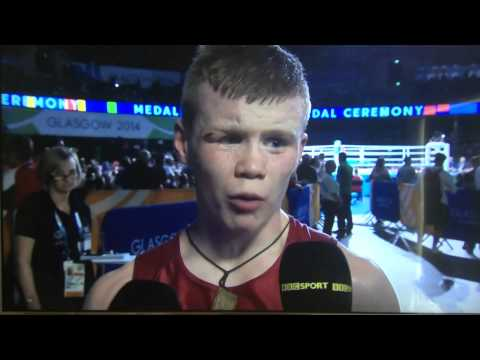 Charlie Flynn wins Commonwealth Gold, gives best post-win interview of the 2014 Games!