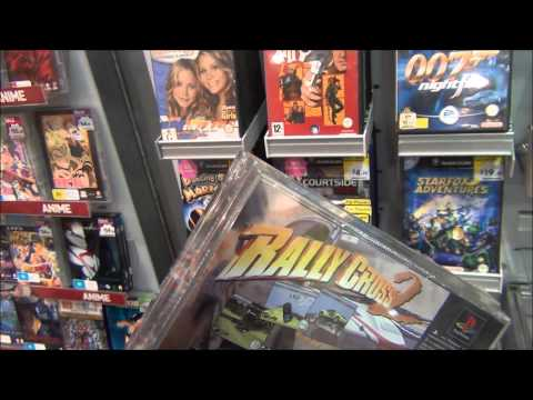 Video Game Hunting - A Single Garage Sale and The Return to Gametraders!