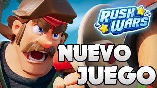 PROBANDO EL NUEVO JUEGO DE SUPERCELL: RUSH WARS EN DIRECTO