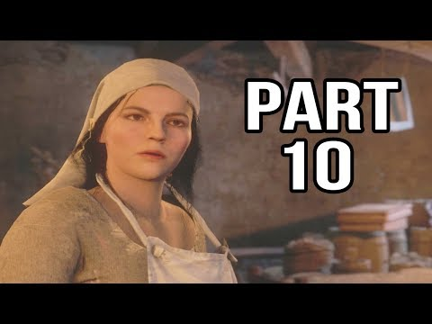 Kingdom Come Deliverance Gameplay Walkthrough Part 10 - The Plague