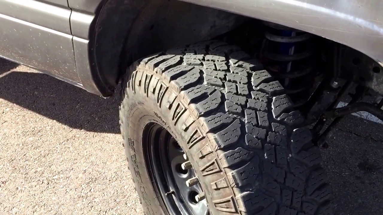 35x At Tire Rack >> Fitting 35 Inch Tires On A 2nd Gen Ram 2500 Kevinsoffroad Com