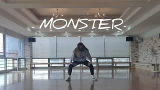 [MIRRORED] REDVELVET(레드벨벳) - MONSTER (몬스터 안무 거울모드) 커버댄스