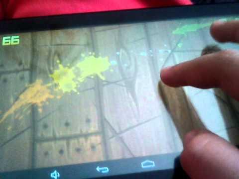 Обзор андроид-игр #2(Fruit Ninja)