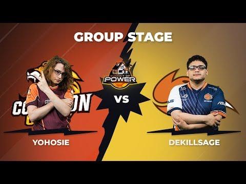 Yohosie vs dekillsage - Group Stage: Pool B - Summit of Power