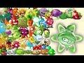 Plants Vs Zombies 2 Todas Las Plantas Máximo Nivel Con Potenciado Mas Poder En Casillas PARTE 1