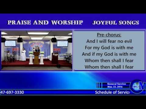 May 22, 2016 | Sunday General Worship | JMCIM-NJ, USA Outreach