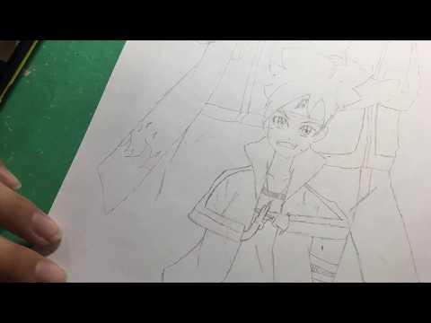 Vẽ boruto-nảuto-minato [ phần 4 ]