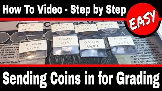 How to Submit Coİns To PCGS For Grading - Online Submission Form Step by Step