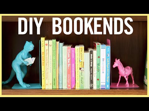 PLAY   5 Adorable Bookends Kids Can Make
