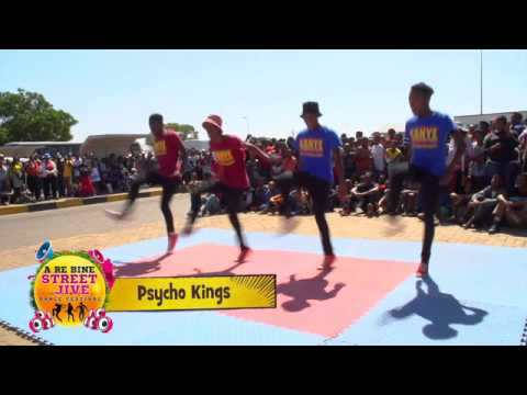 2015 Streetjive Kanye Auditions Top  3 Groups - Psycho Kings