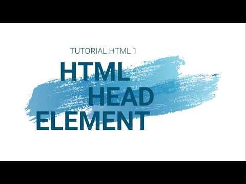HTML Tutorial 1 First Projek & Head Element thumbnail