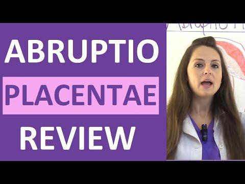 Placental Abruption (Abruptio Placentae) Symptoms, Causes Nursing Interventions NCLEX Lecture