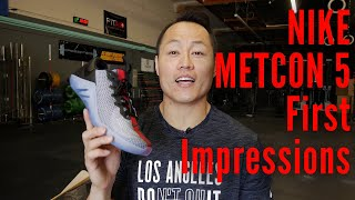 Nike METCON 5 (Mat Fraser & 2019 CrossFit Games) First Impressions!