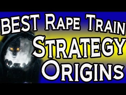 """""""Origins"""" Best High Round Crazy Place Train Strategy! """"Black Ops 2 Zombies Origins Gameplay"""""""