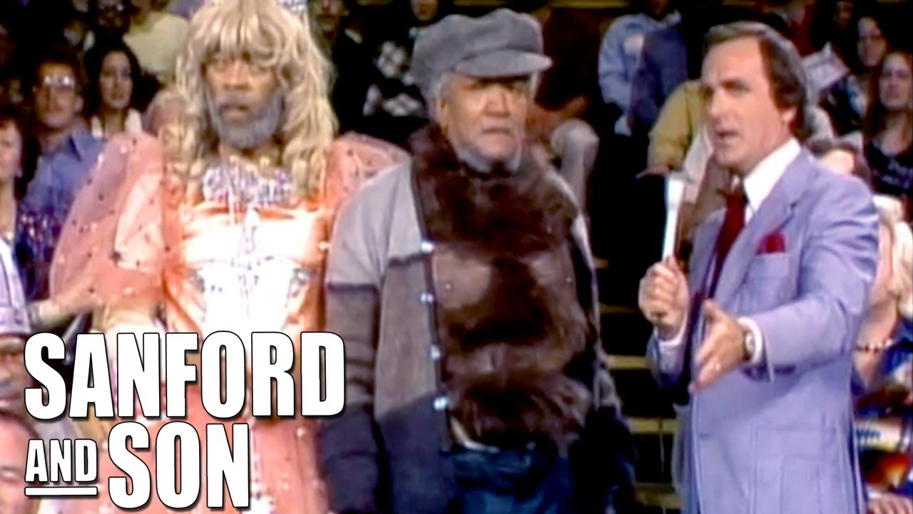 Fred and Grady Dress Up On 'Wheel and Deal' | Sanford and Son