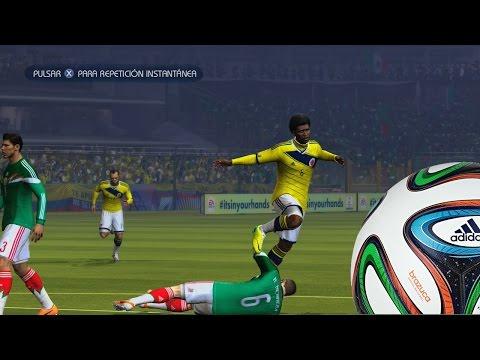 2014 Fifa World Cup Gameplay Xbox 360- Colombia Vs Mexico, Ochoa y Ospina Figuras en el arco
