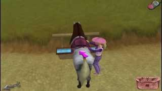 На берегу реки. Прохождение игры Барби/Barbie Приключения на ранчо