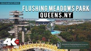 Flushing Meadows Corona Park | NYC | Drone Mavic Pro | GOPRO 4K