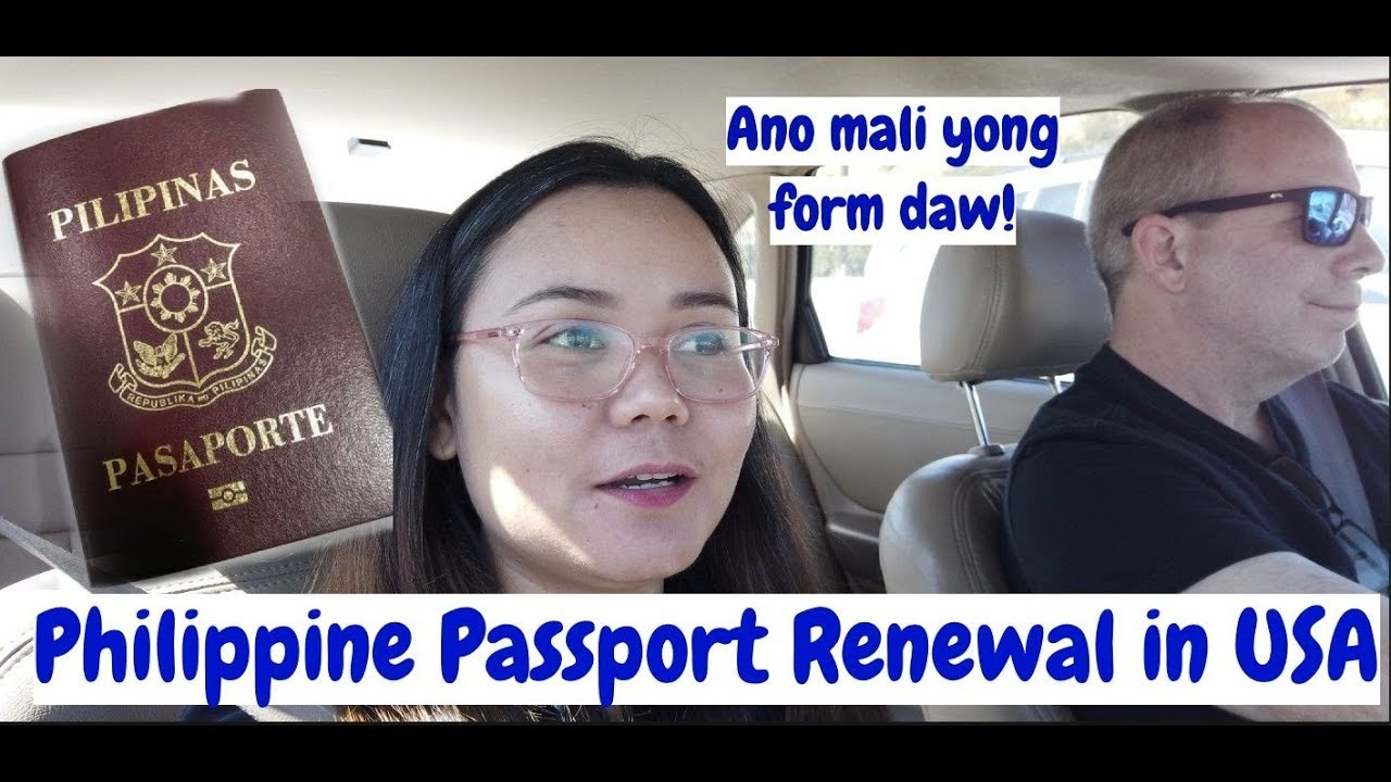 My passport renewal experience at a Philippine Embassy here in US | Filam  couple