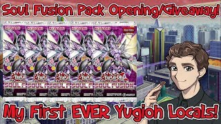 Soul Fusion Opening/GIVEAWAY! + My First Yu-Gi-Oh Locals Experience!