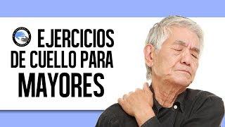 Rutina de ejercicios de cuello para personas mayores