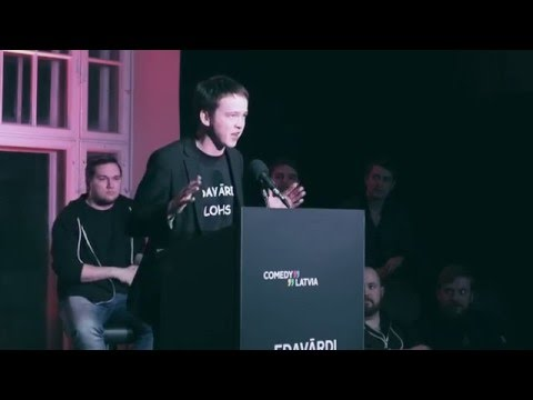 Comedy Latvia: Edavārdi Cepiens