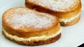 Сколько ни готовь - мало! Гренки с творогом - замечательный выбор для завтрака! | Appetitno.TV