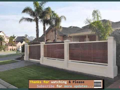 Privacy Fence Ideas Amp Design Youtube