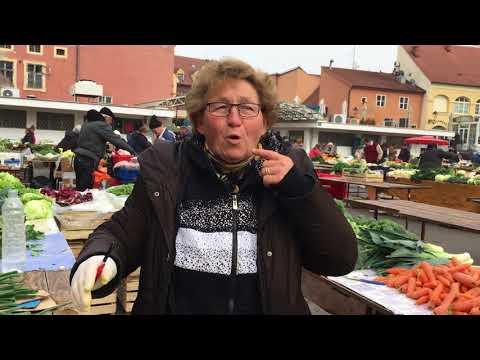 Global sense of place. Dolac market in Zagreb