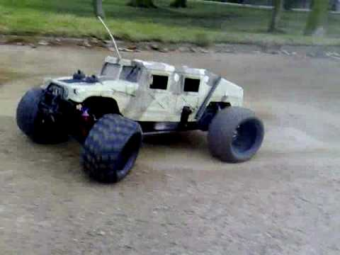Rc Petrol Hummer By John D Alberto Youtube