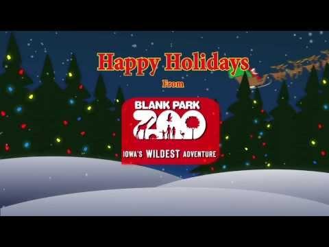 Happy Holidays From Blank Park Zoo
