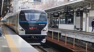 e257系 特急踊り子 熱海駅 到着