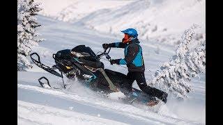 Горные снегоходы BRP 2019 ! Tестируем Ski Doo и Lynx в Шерегеше.