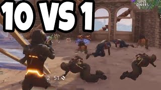 ONE vs TEN! - Fortnite TOP 10 PLAYS of the Week #3 (10 vs 1)