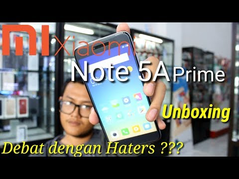 Xiaomi Note 5A Prime Unboxing Indonesia - Kritik Refry Buat Hater