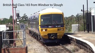 First Great Western British Rail Class 165 from Windsor to Slough