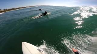 GoPro POV on Channel Islands 4 at Cardiff By The Sea, CA