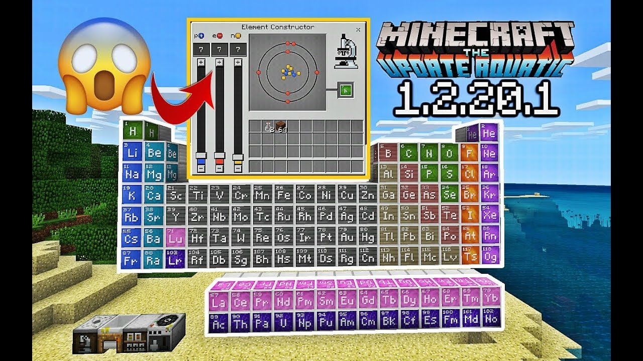 Minecraft education edition chemistry recipes | Chemistry  2019-05-25