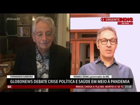 Confira a participação de Romeu Zema na GloboNews