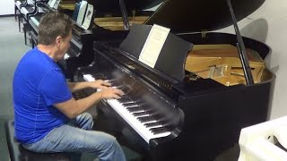 Grand piano demo from Rick Jones Pianos.