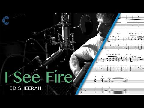 Violin - I See Fire (The Hobbit) - Ed Sheeran - Sheet Music, Chords, & Vocals