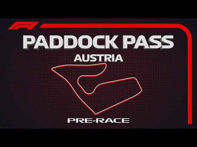 F1 Paddock Pass: Pre-Race At The 2019 Austrian Grand Prix