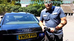 How to put Audi A6 (C6 4F) on jack stands or where are the jack points.