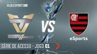 CBLoL 2018: Team One x Flamengo (Jogo 1) | Série de Acesso - 1ª Etapa