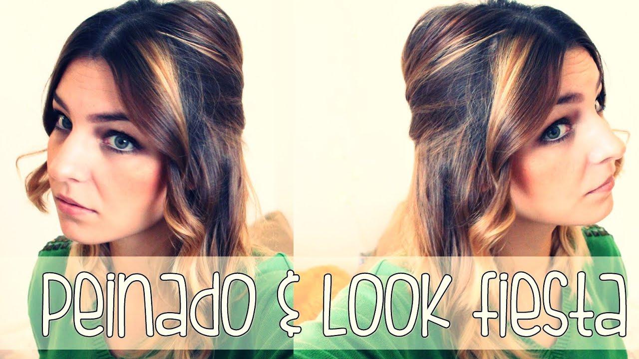 Ideas de estilo para peinados para salir de fiesta Fotos de cortes de pelo tendencias - Hair | Peinado + Look fácil para salir de fiesta - YouTube