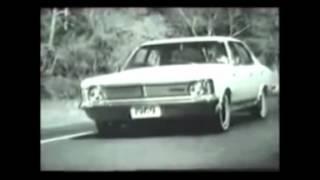 Comerciais antigos de automóveis