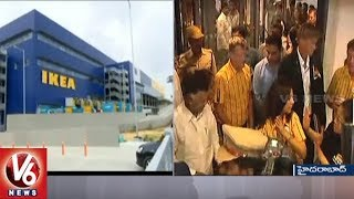 IKEA Opens its First India Store In Hyderabad City | V6 News