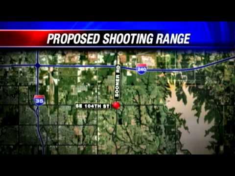 Oklahoma City residents upset over proposed gun range