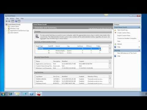 How To: Get the Most out of Windows 7 Event Viewer